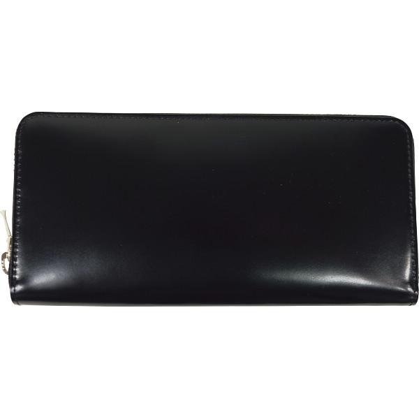 トワクレ コードバン 長財布 ブラック コードバン 装身具 財布 札束入れ 63TC33-10(代引不可)【送料無料】