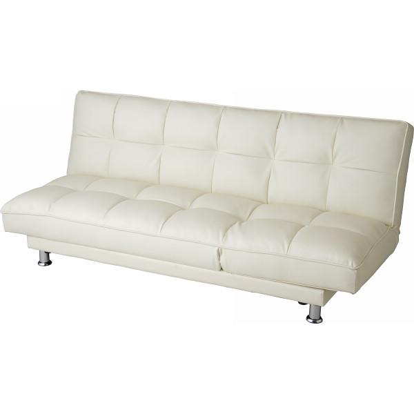 ソファーベッド ユニバース アイボリー 木製品 家具 ソファ 座椅子 ソファベッド NB-104(代引不可)【送料無料】