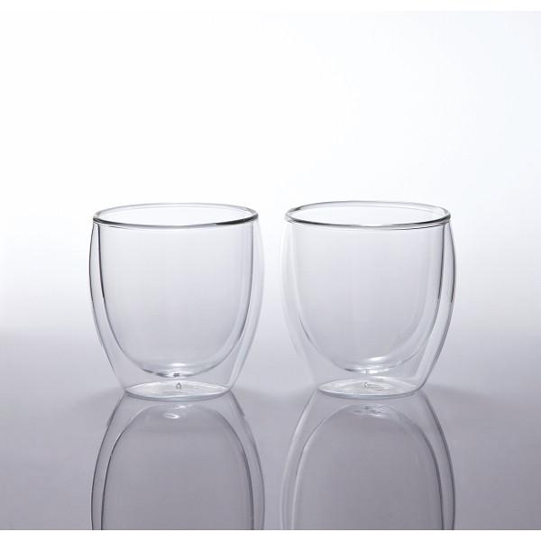 ボダム パヴィーナ ペアダブルウォールグラス 4558‐10(代引不可)