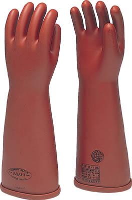 ワタベ 電気用ゴム手袋普通 型大【530】(作業手袋・絶縁手袋)