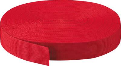 TRUSCO PPベルト幅50mmX長さ50m 赤【PPB-5050 R】(梱包結束用品・結束バンド)