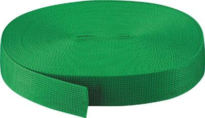 TRUSCO PPベルト幅50mmX長さ50m 緑【PPB-5050 GN】(梱包結束用品・結束バンド)