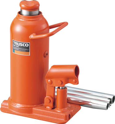 TRUSCO 油圧ジャッキ 15トン【TOJ-15】(ウインチ・ジャッキ・油圧ジャッキ)