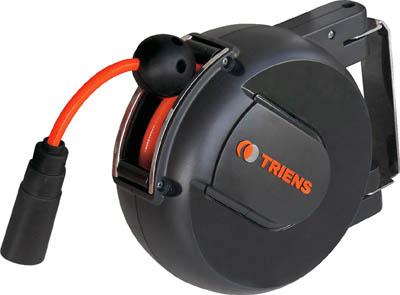 TRIENS エアーホースリール 内径6.5mm×6m【WHC-206A】(流体継手・チューブ・エアリール)