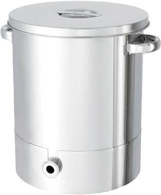 日東 ステンレスタンク片テーパー型汎用容器 100L KTTST47H