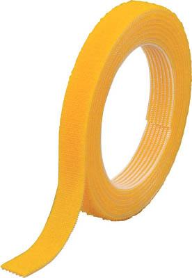 TRUSCO マジックバンド結束テープ 両面 幅40mmX長サ30m 黄 MKT40WY