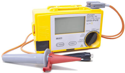 マルチ 太陽電池パネル対応絶縁抵抗計 MISPV2