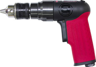 SI ミニリバーシブルドリル【SI-5506】(空圧工具・エアドリル)