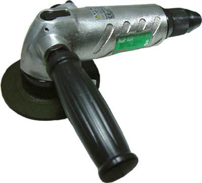 【まとめ買い】 15239【NGP-100】(空圧工具・エアグラインダー):リコメン堂生活館 アングルグラインダ NPK 超強力型 100mm用-DIY・工具