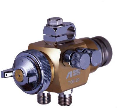 アネスト岩田 液体塗布用自動スプレーガン(大形 簡易) ノズル口径1.5mm TOF2015
