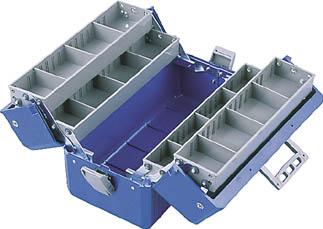 HOZAN ツールボックス ボックスマスター 青【B-56-B】(工具箱・ツールバッグ・樹脂製工具箱)