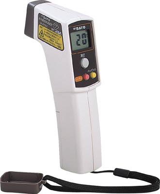 佐藤 赤外線放射温度計【SK-87002】(計測機器・温度計・湿度計)