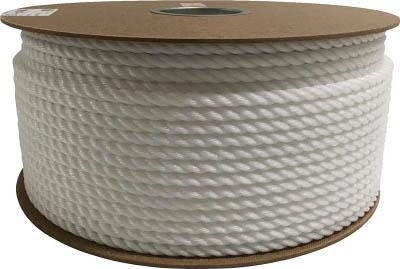 ユタカ ポリエチレンロープドラム巻 9mm×150m ホワイト PRE57