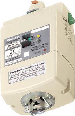 Panasonic 漏電ブレーカ付プラグ 3P20A15mA DH24821K1【送料無料】