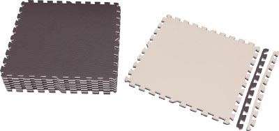 IRIS ジョイントマット 60×60 16枚 ブラウン/ベージュ JTMR616BR