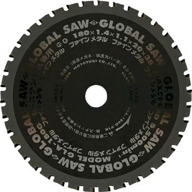 モトユキ 鉄・ステンレス兼用 GLA-305KX54【GLA-305K】(切断用品・チップソー)