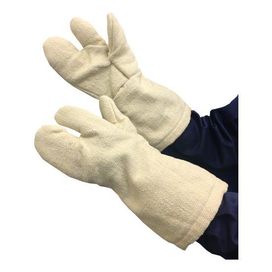 TRUSCO 生体溶解性セラミック耐熱手袋 3本指タイプ TCAT3A【送料無料】