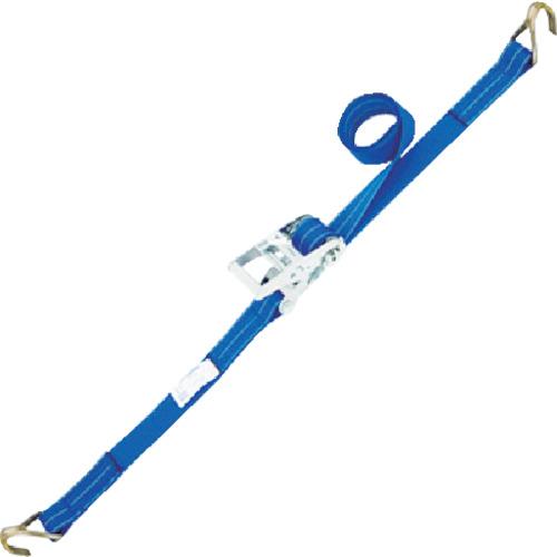 シライ ベルタイト ラチェットバックル 端末金具付き形 ナローフック付 RK50L6NH300【送料無料】