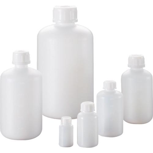 サンプラ PE細口瓶 500mL (100本入) 2064【送料無料】