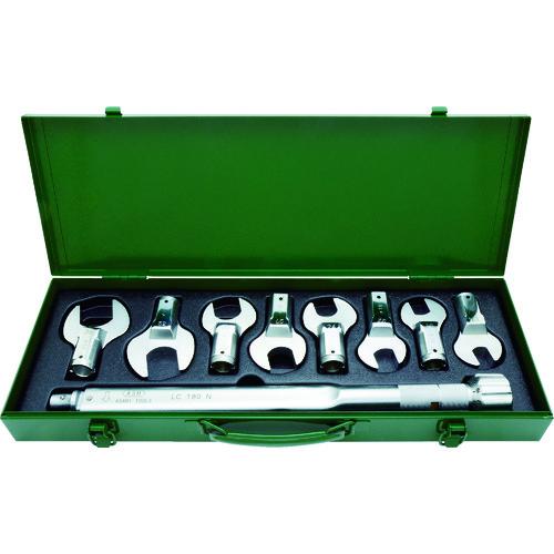 ASH トルクレンチスパナヘッドセットLC180N+17-36mm LCS4000【送料無料】