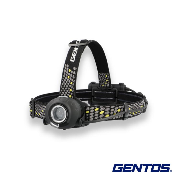 送料無料 GENTOS ジェントス LEDヘッドライト ヘッドウォーズ HLP-2102 耐塵 防滴 可動式 ヘッド 公式 後部 工場 災害 夜間 乾電池 充電池 現場 兼用 安全 認識 ギフト アウトドア