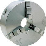 ビクター スクロールチャック SC165F 6インチ 3爪 一体爪【SC165F】(ツーリング・治工具・チャック・生爪)(代引不可)