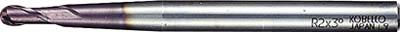 三菱K ミラクルテーパネックボールエンドミル【VCXBR0400T0300】(旋削・フライス加工工具・超硬ボールエンドミル)