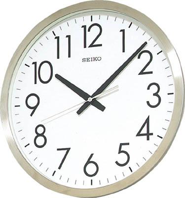 SEIKO オフィスクロック 直径350×34 金属枠【KH409S】(OA・事務用品・掛時計)