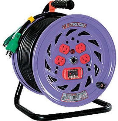 日動 電工ドラム 標準型100Vドラム アース過負荷漏電しゃ断器付 30m【NF-EK34】