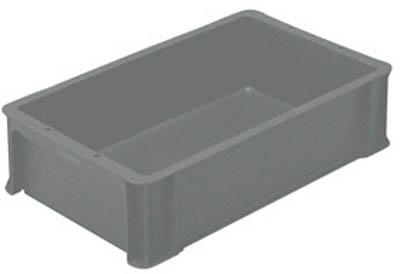 ヒシ S型コンテナ グレー オンライン限定商品 S-12 パレット コンテナ ボックス型コンテナ 人気の製品 GY