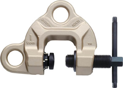 スーパー スクリューカムクランプ(ダブル・アイ型)ツイストカム式【SDC0.5S】(吊りクランプ・スリング・荷締機・吊りクランプ)