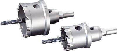 ユニカ 超硬ホールソーメタコアトリプル 80mm【MCTR-80】(穴あけ工具・ホールカッター)