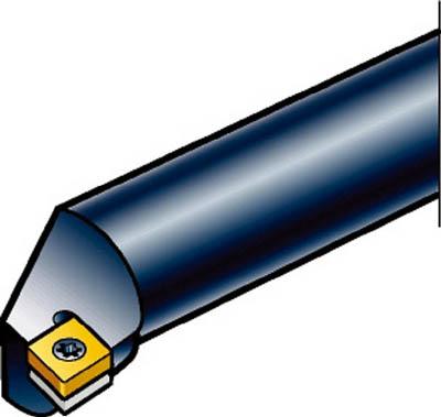 サンドビック コロターン107 ポジチップ用超硬ボーリングバイト【E12Q-SCLCL 06-R】(旋削・フライス加工工具・ホルダー)
