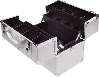 アルミケース 両開き2段【TAC-360W】(工具箱・ツールバッグ・アルミケース・トランク) TRUSCO
