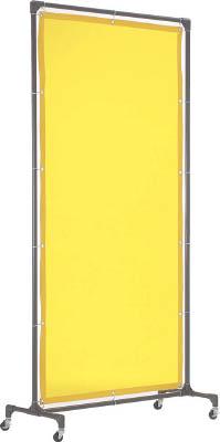 TRUSCO 溶接遮光フェンス 1020型単体 黄【YFB-Y】(溶接用品・溶接遮光フェンス)