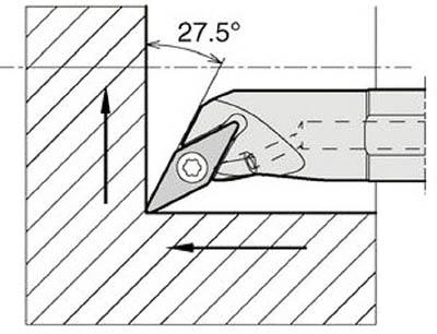 京セラ 内径加工用ホルダ 【A12M-SVPBR11-18AE】(旋削・フライス加工工具・ホルダー)