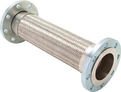 フレキシブルメタルホース(フランジ型)【Z-4000-80-300】(管工機材・フレキ管)