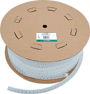 パンドウイット 電線保護材 パンラップ 黒【PW100F-C20】(梱包結束用品・結束バンド)