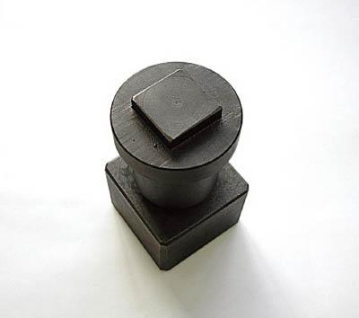 MIE 長穴ポンチ(昭和精工用)15X25mm【MLP-15X25-S】(ハンマー・刻印・ポンチ・ポンチ)