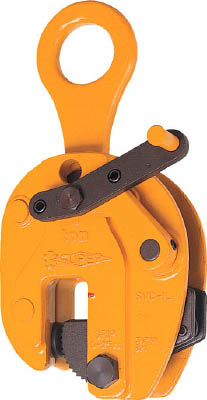 スーパー 立吊クランプ(ロックレバー式)遠隔操作レバー付【SVC1L】(吊りクランプ・スリング・荷締機・吊りクランプ)