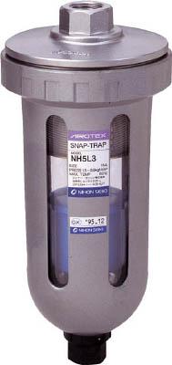 日本精器 ドレントラップヘビードレン用 NH-5L3 メーカー直売 空圧 油圧機器 エアユニット ファッション通販