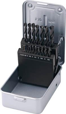 HOZAN ドリルセット19本組【K-494】(穴あけ工具・ドリルセット)