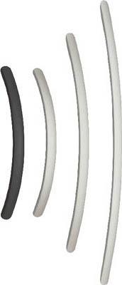 スガツネ工業 アルミ製弓形ハンドルSOR型400ブラック(100-010-963【SOR-400BL】(機械部品・取手)