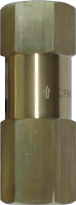 日精 日本精器 高圧ラインチェック弁 20A【BN-9L21H-20-CFB-V】(空圧・油圧機器・エアバルブ)