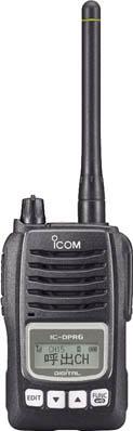 アイコム 高出力デジタル簡易無線機【IC-DPR6】(安全用品・標識・トランシーバー)