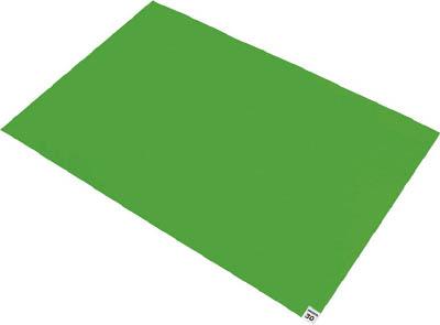 TRUSCO 粘着クリーンマット 600X900MM グリーン 10シート入【CM6090-10GN】(床材用品・クリーンマット)
