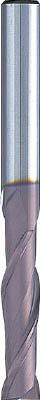 NS 無限コーティング 2枚刃ミディアムEM MSEM230 Φ10【MSEM230 10】(旋削・フライス加工工具・超硬スクエアエンドミル)