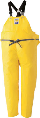 ロゴス マリンエクセル 胸当て付きズボン膝当て付きサスペンダー式 イエロー L【12063522】(保護具・作業服)