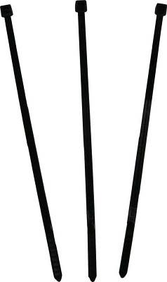 パンドウイット ナイロン結束バンド 耐熱耐候性黒【PLT2S-M300】(電設配線部品・ケーブルタイ)