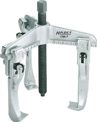 HAZET クイッククランピングプーラー(3本爪・薄爪)【1786F-16】(レンチ・スパナ・プーラ・ギヤプーラ)
